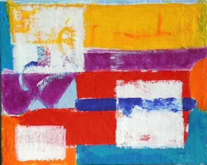 Add-cancel-add-3, 24x30cm, Acryl auf Leinwand, 2001