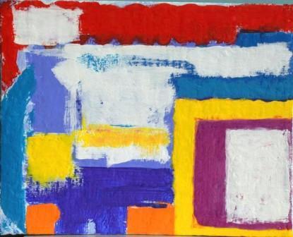 Add-cancel-add-5, 24x30cm, Acryl auf Leinwand, 2001