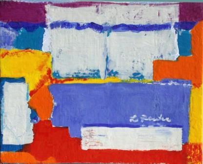 Add-cancel-add-6, 24x30cm, Acryl auf Leinwand, 2001